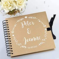 Personalised Wedding Guestbook or Scrapbook/Photo Album/Guest Book