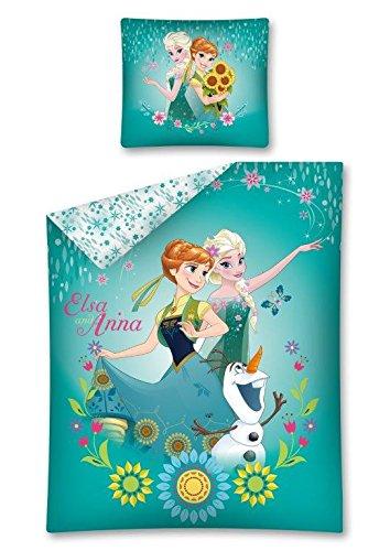 Funda nordica diseño Frozen Ela Ana y Olaf