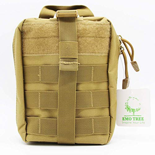 Sky-Welle Tactical Molle Rip-Away EMT Medical Erste Hilfe IFAK Blowout Pouch Bag Bag, Khaki - Medical Pouch Molle