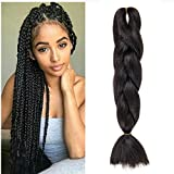Best Synthetic Hairs - WIGENIUS 5 Pieces Jumbo Braid Synthetic Hair 24 Review