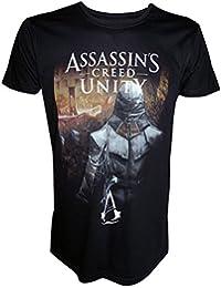 Assassins Creed Unity - Hidden Homme T-Shirt - Noir - Taille Small