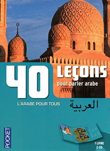Coffret 40 Leçons pour parler arabe (livre + 2CD)