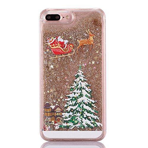iPhone 6/6S Coque - 3D Design Créatif Prime Luxe Shine Flow Sand Adorable Flowing Flottant Mouvement Shine Glitter Sequins Bling Cute Pattern Téléphone Case pour iPhone 6/6S - Born to Shine 13-B