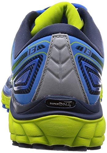 Brooks Glycerin 13, Chaussures de Running Entrainement Homme Bleu (electricbluelemonade/limepunch/dressblues 442)