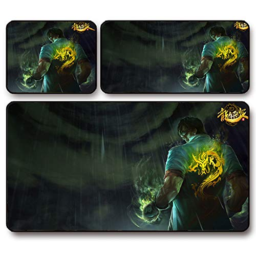 AURORBOY Blind Li Qinglong'S Successor Lol Alianza Importante Mouse Pad Super Thick Pad Game Padding