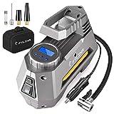 FYLINA AU01002 Digital Preset Air Compressor Car Tyre Pump, 12V 120W 120PSI