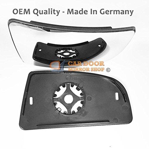 Ford Transit Blind Spot Specchio Porta/Specchietto, Lato Destro (con supporto) non riscaldato per reg 2014al (Media Base Spot)