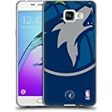 Officiel NBA Icône Surdimensionnée Minnesota Timberwolves Étui Coque en Gel molle pour Samsung Galaxy A5 (2016)