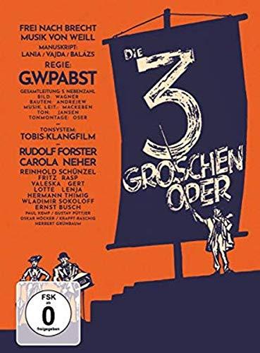 Die 3-Groschen-Oper - Mediabook, restaurierte Fassung (+DVD) [Blu-ray]