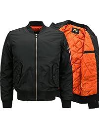 YYZYY Homme Classique automne hiver épais chaud rétro patches Flight Jacket Veste Bomber Pilot vol Flying Blousons Mens Parka XS-6XL