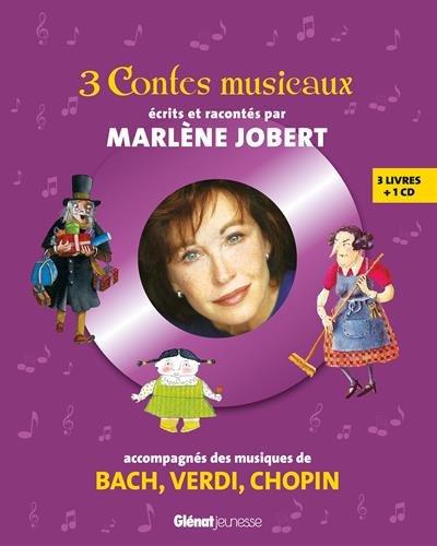 3 contes musicaux: Pour faire découvrir les musiques de Bach, Verdi, Chopin par Marlène Jobert