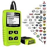 JDiag OBD diagnostic auto Code lecteur OBD2 scanner avec la fonction de test de la batterie