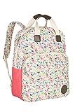 Lässig Vintage Backpack Wickelrucksack/Wickeltasche inkl. Wickelzubehör,  butterfly spring