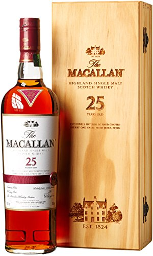 Macallan 25 Years Old Triple Cask in Holzkiste (0,7 L)