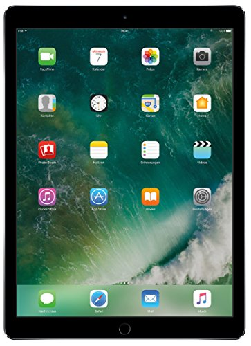 Apple iPad Pro ML0N2FD/A 32,8 cm (12,9 Zoll) Tablet PC (Wi-Fi, 4GB RAM, 128GB HDD, Apple iOS, Touchscreen) spacegrau