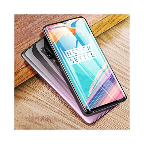 Glas 3-licht-arc (LZHANDA Schutzfolie Gehärtetem Glas panzerglas 3D Curved for 7 Pro 6T Screen Protector Nano Hydration Film 7 5T 6 3 Full Screen Cover Not Tempered Glass for oneplus 3T with Tools 2piece Back Film)