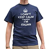 Telecharger Livres Nutees I Can t Keep Calm Stronzo I m Italian Italy Funny Mens T Shirt Bleu Marine X Large (PDF,EPUB,MOBI) gratuits en Francaise