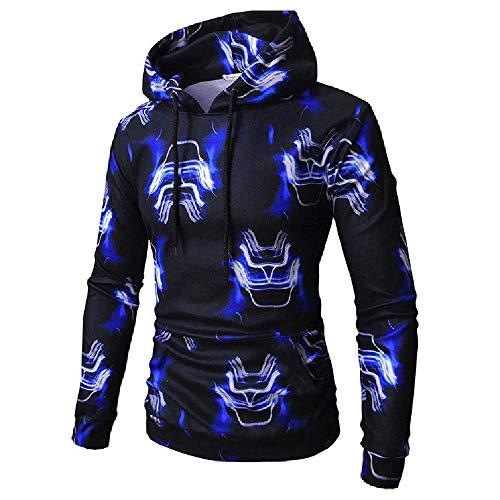Kapuzenpullover Sunnyadrain Herren Hoodie Muster Lose Plus Größe Geschäft  Pullover Winter Warm Outwear Sweatshirt Top Langarm 30021e1fc1