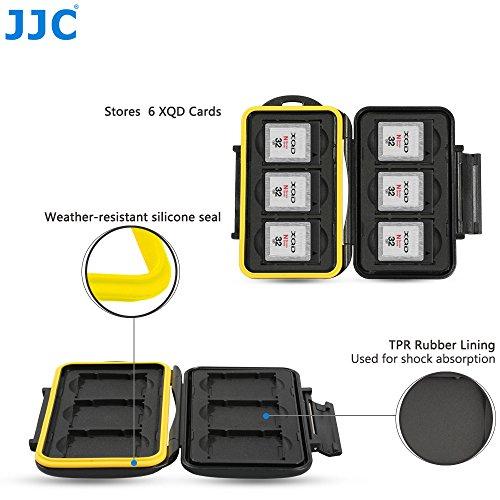 JJC MC-XQD6 Fundas para Tarjetas de Memoria para 6 x XQD Cards