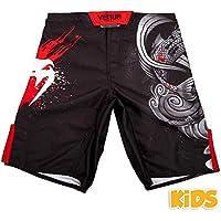 Venum Koi 2.0 Pantalones Cortos de Entrenamiento, Unisex niños, Negro/Blanco, 10 años