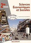 Sciences �conomiques et sociales 2de...