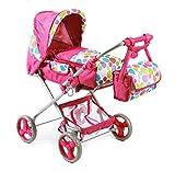 Bayer Chic 2000 586T17 - Kombi-Puppenwagen Bambina, Pinky Bubbles