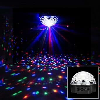 excelvan dmx512 clairage ampoule de sc ne disco dj led. Black Bedroom Furniture Sets. Home Design Ideas