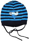 Sterntaler Baby-Jungen Mütze Strickmütze, Blau (Marine 300), 43