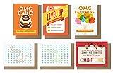 Quirky Papier CO. Alle Anlässe sortiert Karten (Set of 6)