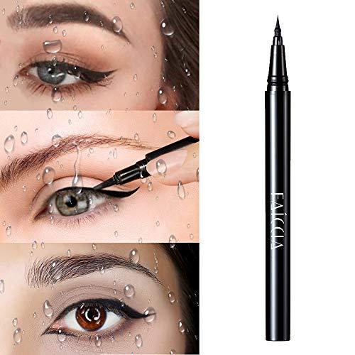 Eyeliner liquide Waterproof Eyeliner,Crayon pour Les Yeux Waterproof Longue Tenue,Séchage Rapide Precise Eyeliner Pencil Pen pour Maquillage Yeux de Chat