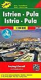 Istrien - Pula, Autokarte 1:100.000, Top 10 Tips, freytag & berndt Auto + Freizeitkarten - Freytag-Berndt und Artaria KG
