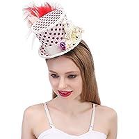 Sombrero al Aire Libre Micro Mini Sombrero de Copa Sombrero de Navidad c3bc0d9aa38