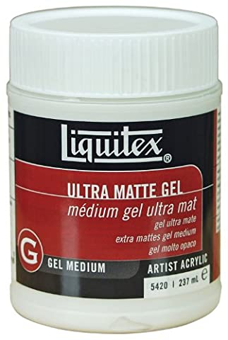 Liquitex Professional Pot d'Additif gel Ultra mat Taille M 237 ml