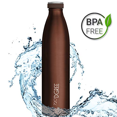 """720°DGREE Gourde INOX """"milkyBottle"""" - 350ml, 500ml, 750ml, 1000ml 