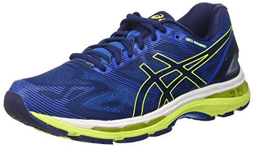 asics-gel-nimbus-19-mens-running-shoes-blue-indigo-blue-safety-yellow-electric-blue-85-uk-435-eu