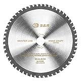 S&R Lama Sega Circolare Multimateriale 190 x30x2,4mm 54 Denti per il taglio Multi-Materiale, Uni Cut