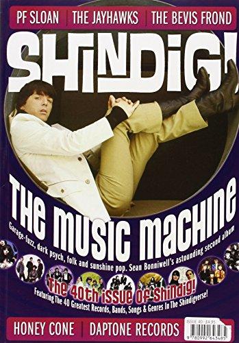 Shindig! No.40 - The Music Machine: Garage-Fuzz, Dark Psych, Folk and Sunshine Pop por Jon