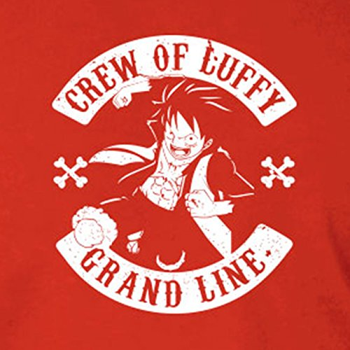 Crew of Luffy - Stofftasche / Beutel Blau