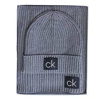 100% autentico migliore selezione del 2019 moda di vendita caldo Calvin Klein - Cappello - Berretto - Uomo (Mid Grey Heather ...