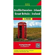 Freytag Berndt Autokarten, Großbritannien - Irland - Maßstab 1:700.000