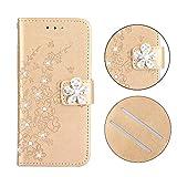 BoxTii Coque iPhone XR, Gaufrage Luxueux Étui en Cuir avec Fonction Support et...