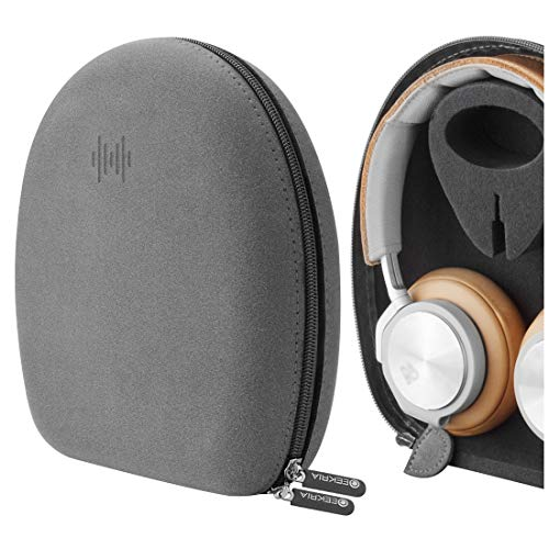 Geekria® Microfiber Headphones Case for B&O PLAY by BANG & OLUFSEN BeoPlay H2, H6, H7, H8, H9 / Headphone Hard Carrying Case / Travel Bag