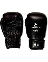 Gimer artes marciales, Guantes unisex – adulto, Negro, 10