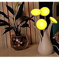 LED intelligente luce di controllo Nightlight vaso USB energetico forma lampada a risparmio bagno comodino ,
