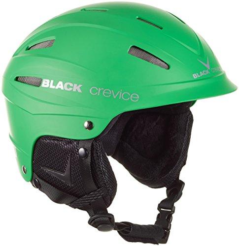 Black Crevice BCR143912, Casco de Esquí, Verde, S (54-56 cm)