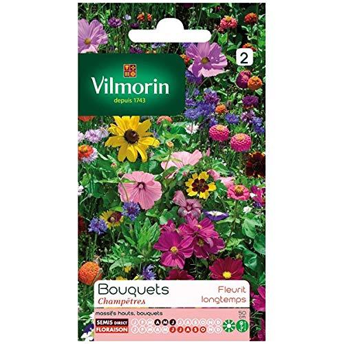 Vilmorin - Sachet graines Fleurs Bouquets Champêtres
