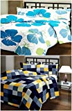 Best Lightweight Comforters - DI-Kraft Floral Printed Soft and Light Weight Reversible Review