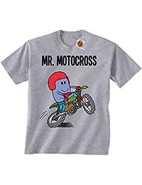 `Mr Motocross`childrens hobbies/sports boys perfect Motorbike gift t shirt