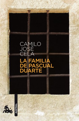 La familia de Pascual Duarte (Contemporánea) por Camilo José Cela
