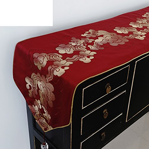 Moderne,chinesisch-art tischläufer/exquisit.gestickt.mosaik-tisch-flagge/luxus-bett-flagge/tischläufer-A 30x200cm(12x79inch)